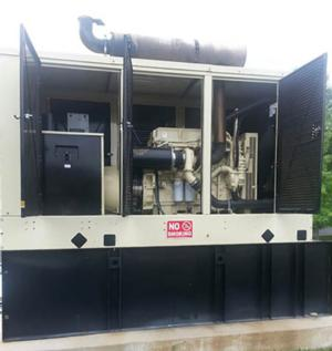 300kw for a Diesel Auto Parts Yard