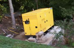 Aksa 150kw Dual Fuel, Natural Gas and LP Gas Generator
